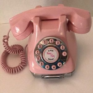 Mary Kay Collectible Retro Pink Phone